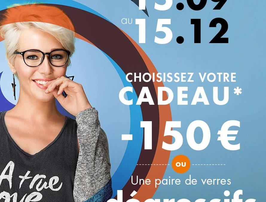 Campagne d'Automne sur les verres progressifs